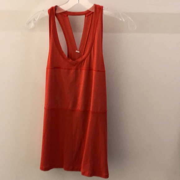 lululemon athletica Tops - Lululemon red tank, sz 8, 68452
